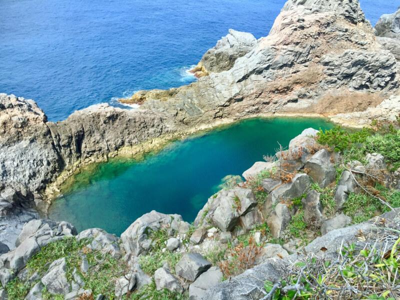 絶景の秘境・千両池に行ってきた!神津島アラサー女子旅2日目