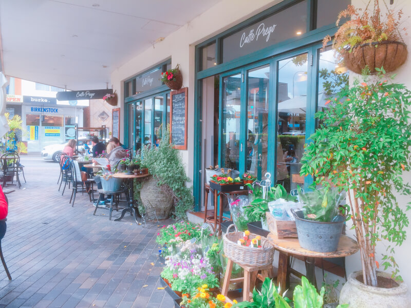 ノースシドニー高級住宅街モスマンのおしゃれカフェ2つ!朝はヨガもできる♪
